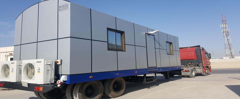 Saudi Aramco Mobile Caravan Units